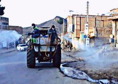 گندزدایی-غربالگری-روستای-طبس1